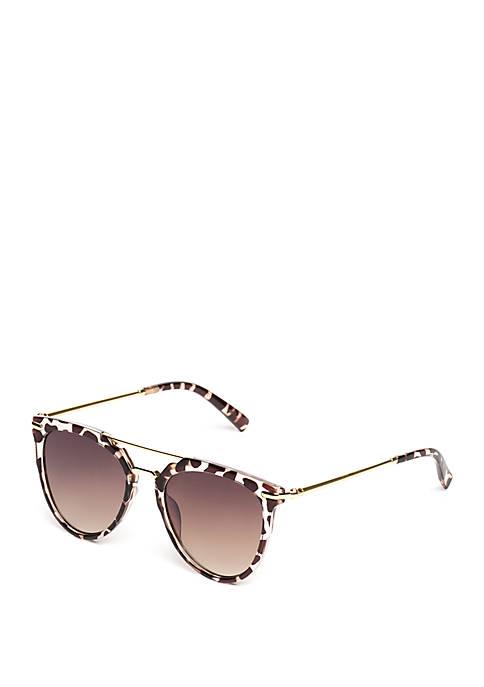 Plastic Tortoise Sunglasses