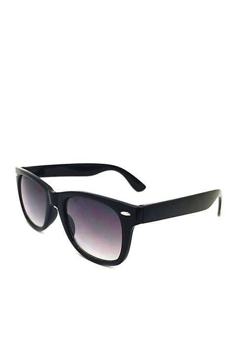 TRUE CRAFT Black Wayfarer Sunglasses