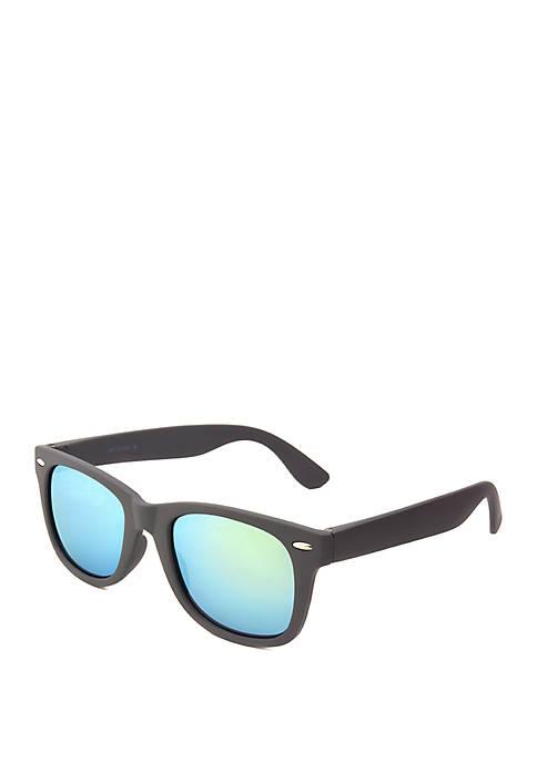Gray Rubberized Sunglasses