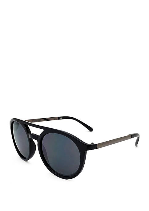 82aa5aaf0a TRUE CRAFT Black and Gunmetal Sunglasses