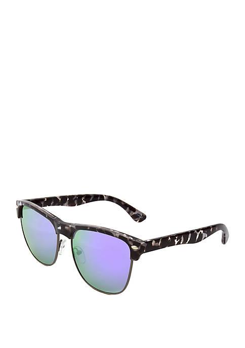 Smoke and White Tortoise Sunglasses