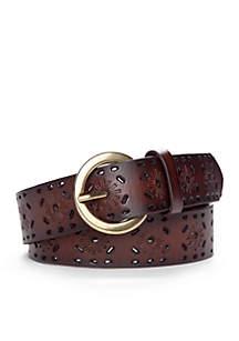 Adjustable Perforated Belt
