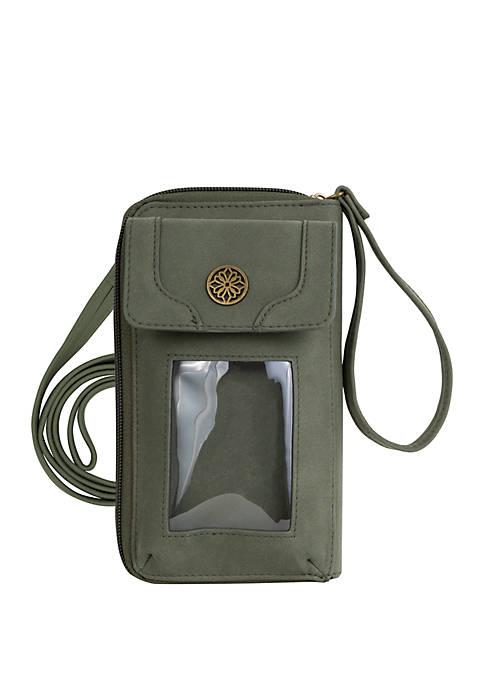 Kim Rogers® Audrey Zip Around Cell Phone Wallet