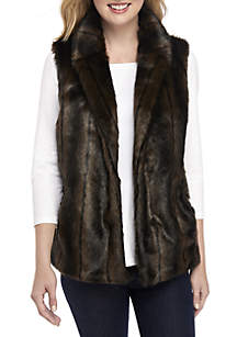 Sable Faux Fur Vest