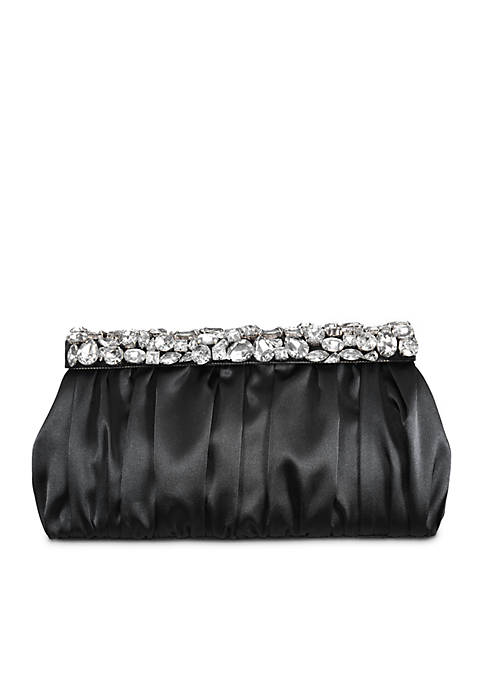Nina Dubai Crystal Embellished Clutch