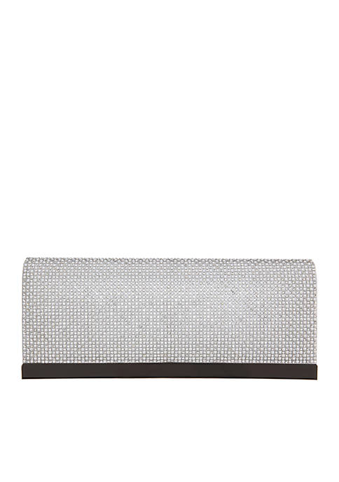 Hartford Crystal and Pearls Clutch