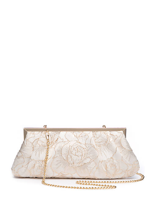 Kinsey Floral Clutch