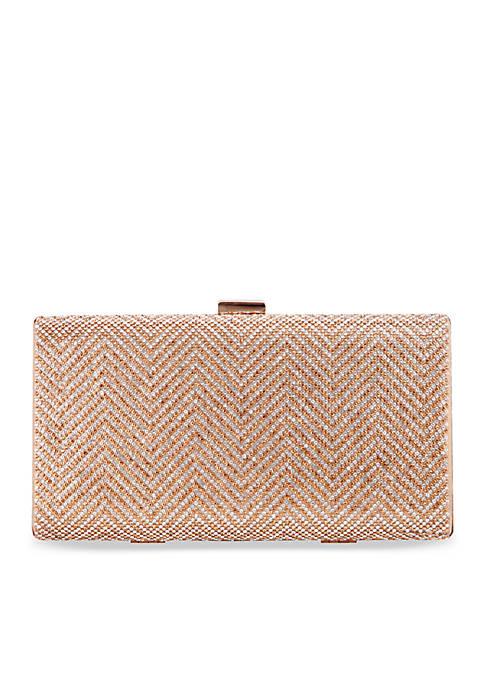 Laken Beaded Miniaudiere Bag