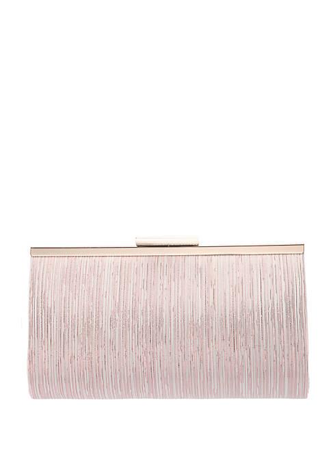 Nina Winslet Patterned Frame Clutch Bag