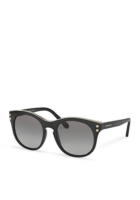 Logo Cat Eye Sunglasses