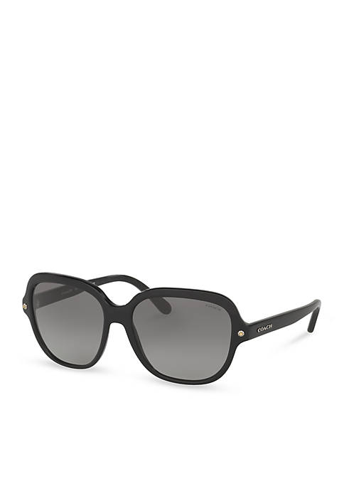Logo Square Sunglasses