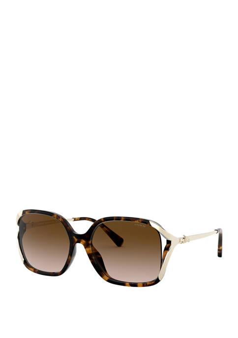 COACH Updated Rectangle Sunglasses