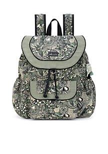 Artist Circle Flap Backpack
