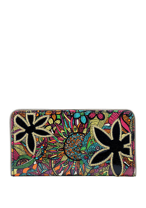 Sakroots Artist Circle Slim Wallet