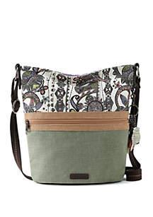 Sakroots Artist Circle Soft Bucket Hobo Bag