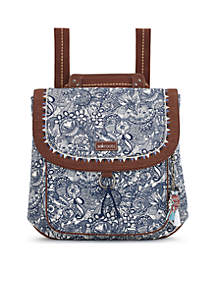 Floral Convertible Backpack