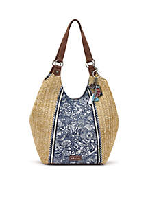 Sakroots Roma Bucket Shoulder Bag