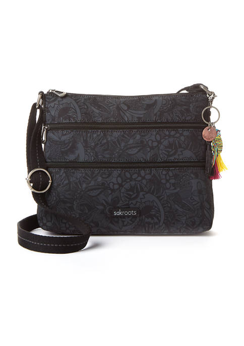 Sakroots Basic Printed Crossbody Bag