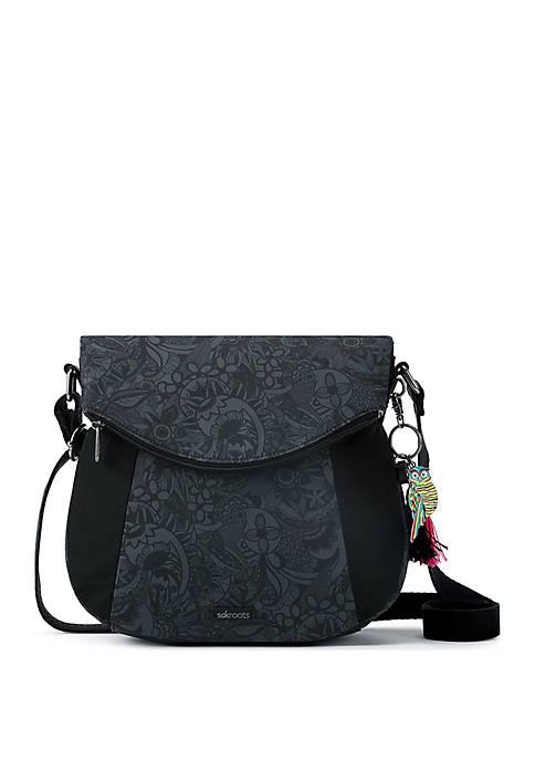 Sakroots Fold Over Crossbody Bag
