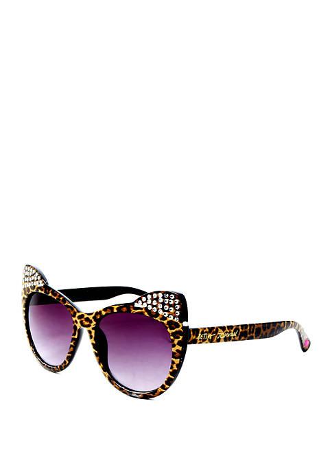 Betsey Johnson Kitten Ear Sunglasses
