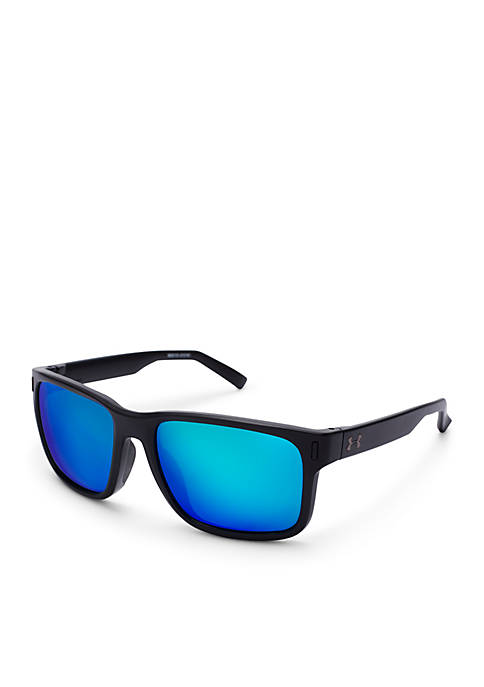 Under Armour® Assist Satin Black Sunglasses