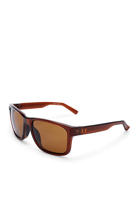 Under Armour® Assist Rectangular Sunglasses