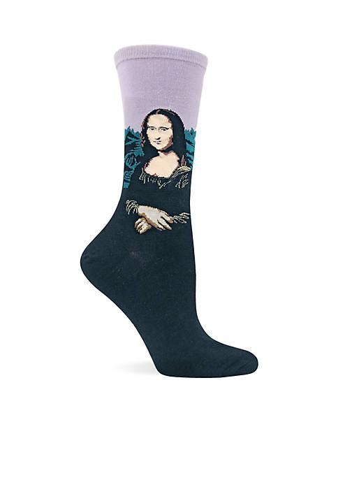 Mona Lisa Crew Sock - Single Pair