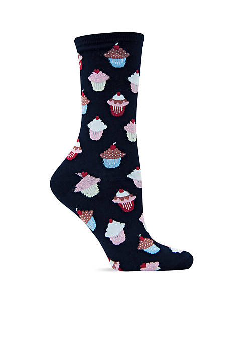 Hot Sox® Cupcakes Trouser Socks