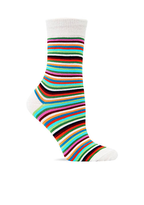 Hot Sox® Thin Multi Stripe Trouser Sock