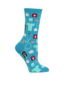 Medical Crew Sock