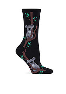 Climbing Koala Crew Socks
