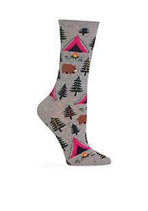 Bear Tent Crew Socks
