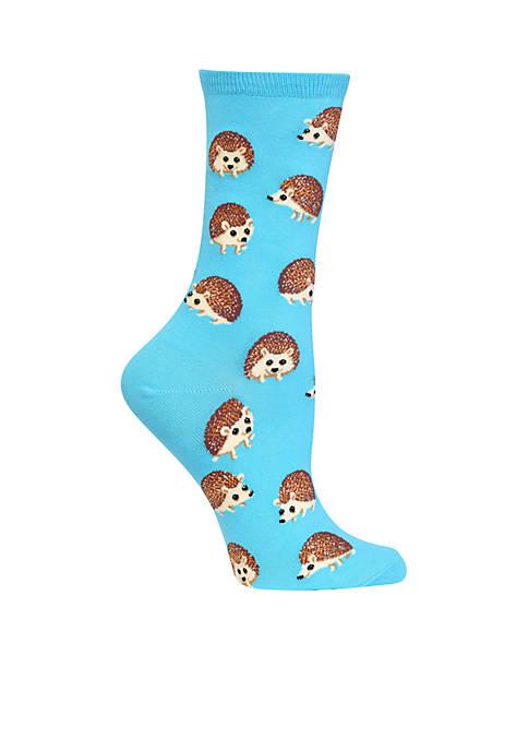 Hedgehog Crew Socks