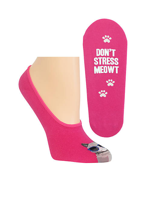 Hot Sox® Dont Stress Meowt Socks