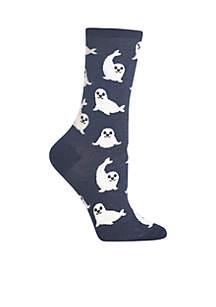 Harp Seal Socks
