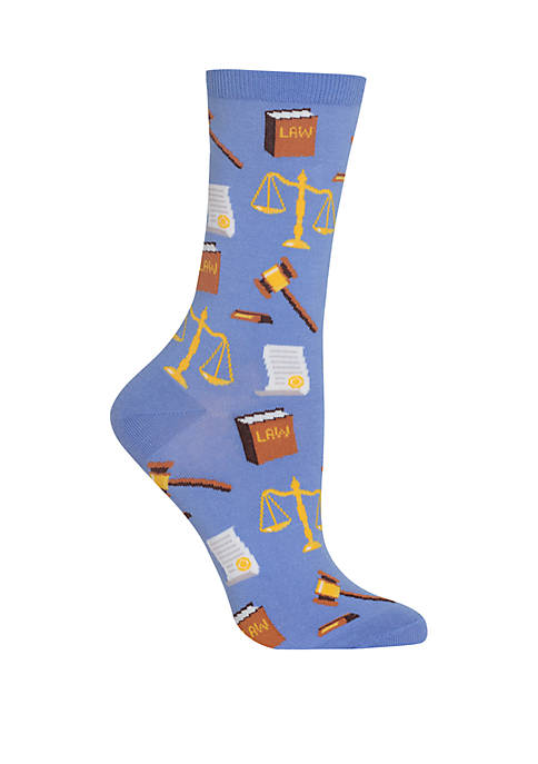 Hot Sox® Lawyer Crew Socks