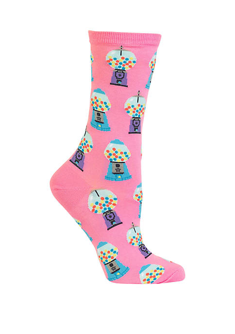 Hot Sox® Gumball Machines Crew Socks
