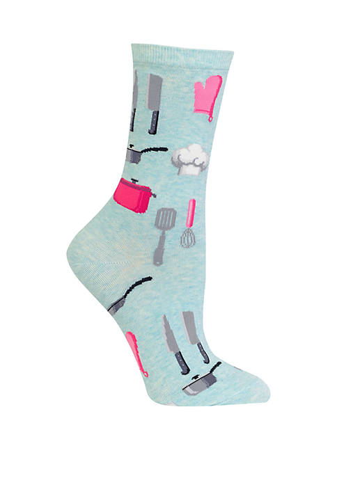 Hot Sox® Chef Crew Socks