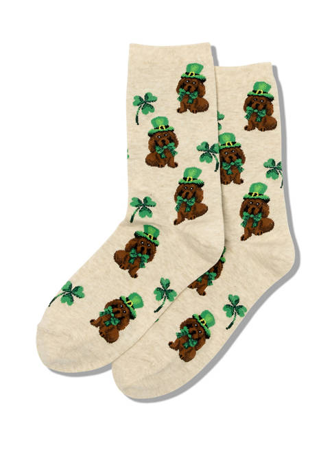 Hot Sox® Irish Pup Socks