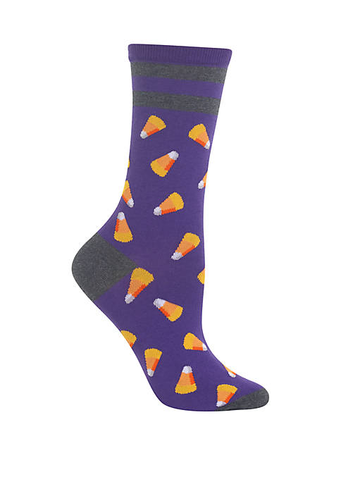 Hot Sox® Candy Corn Crew Socks