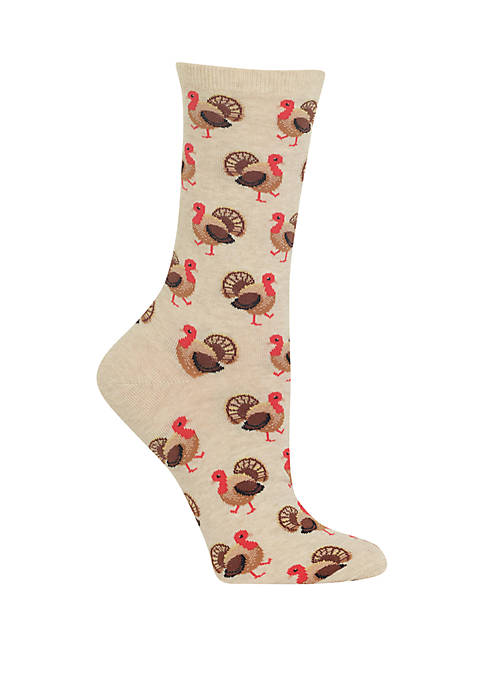 Turkey Crew Socks
