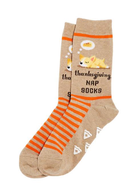 Hot Sox® Pie Nap Non-Skid Socks