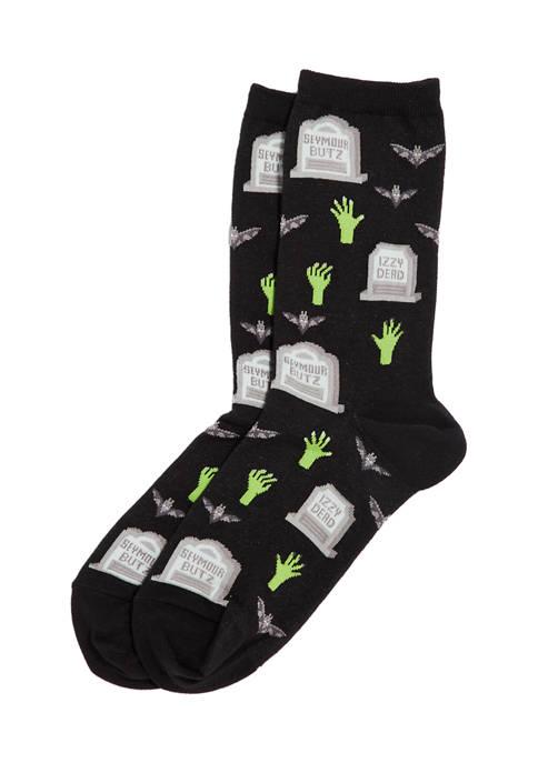 Gravestones Crew Socks