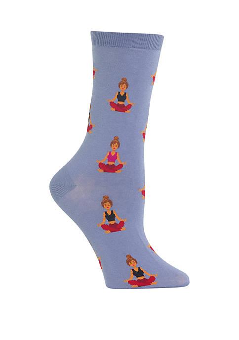 Meditation Crew Socks