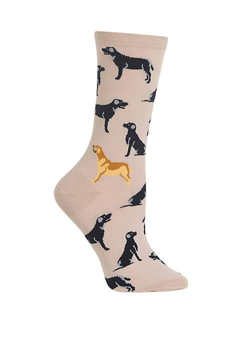 Hot Sox® Labrador Crew Socks