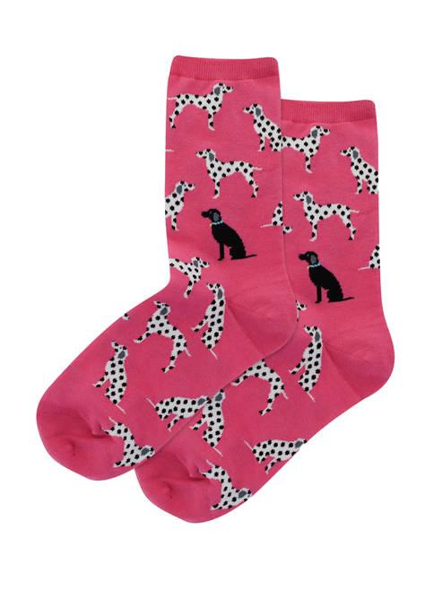 Hot Sox® Dalmatians Socks
