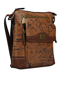 New Directions® Crocodile Filemaster Wallet · b.ø.c. Voyage Organizer  Crossbody 88984f8815d2f