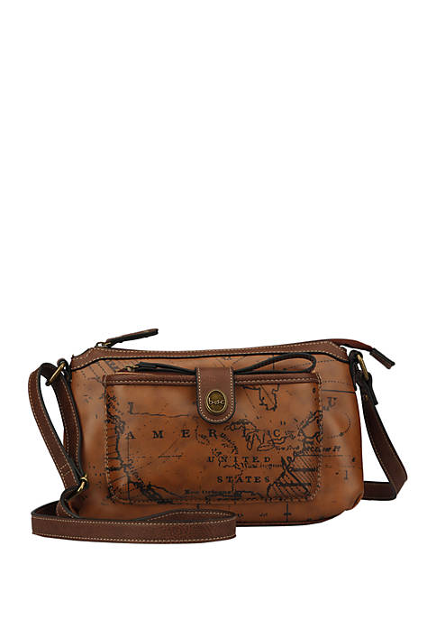 b.ø.c. Map Voyage Crossbody