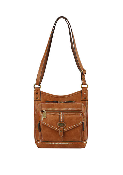 b.ø.c. Cobble Hill Super Organizer Crossbody