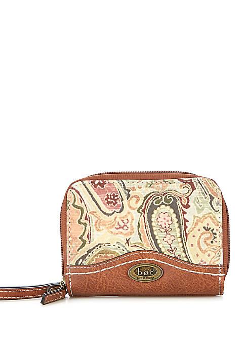 Barton Paisley Mini Wallet